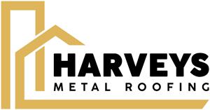 Harveys Metal Roofing Logo